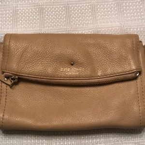 Kate Spade Small Crossbody - Tan leather
